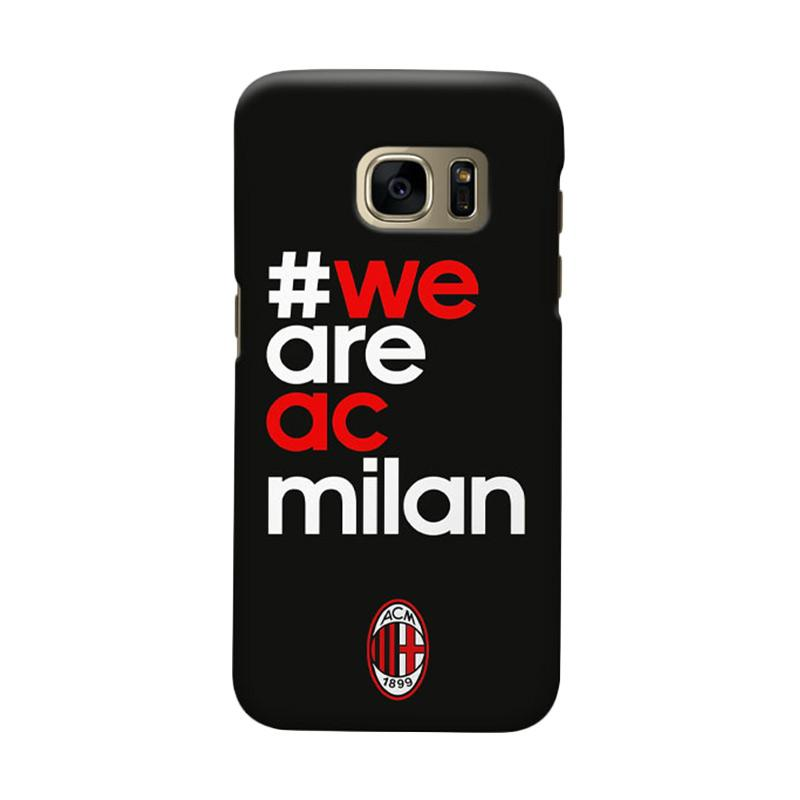 Indocustomcase We Are Milanisti Cover Hardcase Casing for Samsung Galaxy S7 Edge
