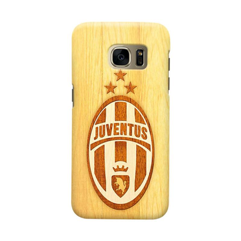 Indocustomcase Juventus FC JFC07 Cover Casing for Samsung Galaxy S7 Edge