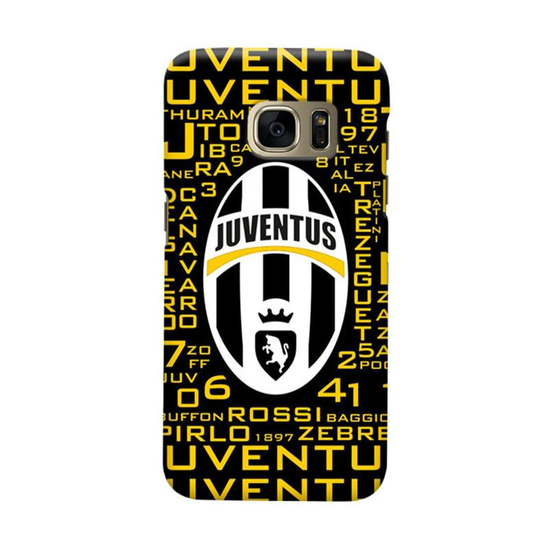 Indocustomcase Juventus FC JFC08 Cover Casing for Samsung Galaxy S7 Edge