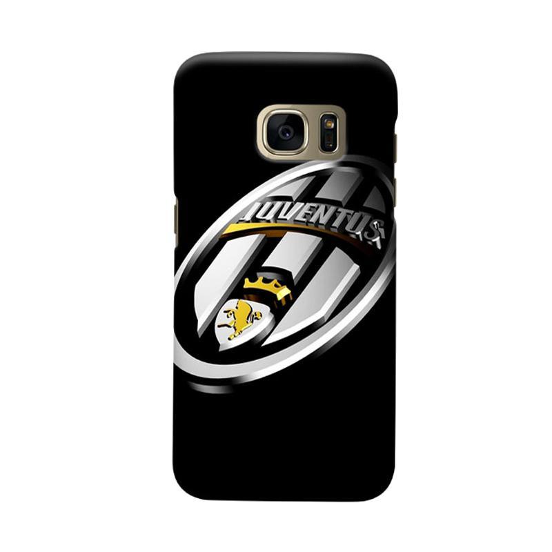 Indocustomcase Juventus FC JFC09 Cover Casing for Samsung Galaxy S6 Edge