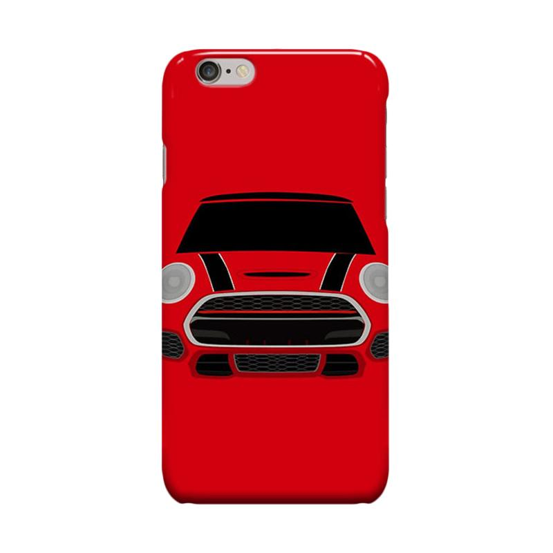 Indocustomcase Mini Cooper Cover Casing for Apple iPhone 6 Plus or 6S Plus