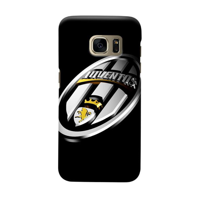 Indocustomcase Juventus FC JFC09 Cover Casing for Samsung Galaxy S7 Edge
