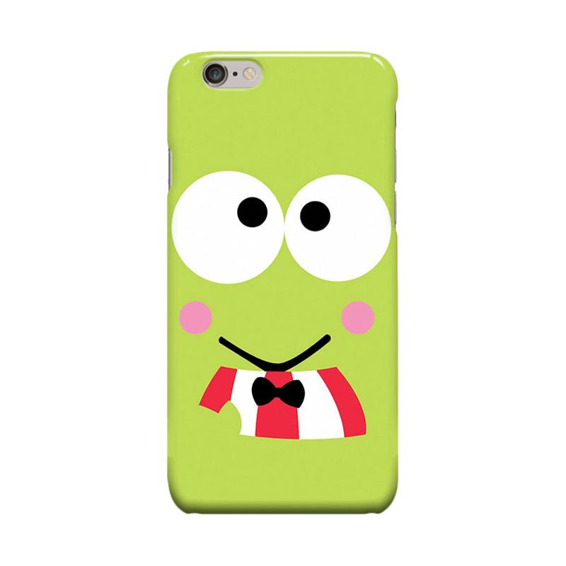Indocustomcase Cartoon Keroppi Casing for Apple iPhone 6 Plus or 6S Plus