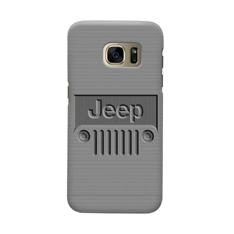 Indocustomcase Jeep Minimal Stripe Cover Casing for Samsung Galaxy S6