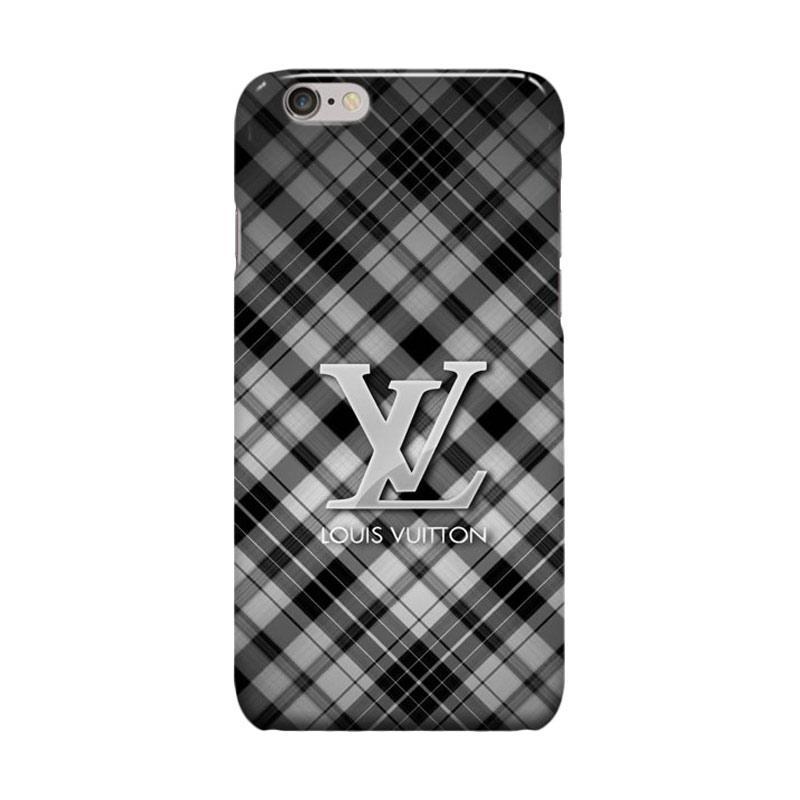 Indocustomcase Louis Vuitton Cover Casing for iPhone 6 Plus or 6S Plus