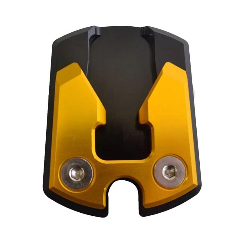 Raja Motor Cover Standar Samping Motor for Yamaha NMax - Hitam Gold [CVR3101-Hitam-Gold]