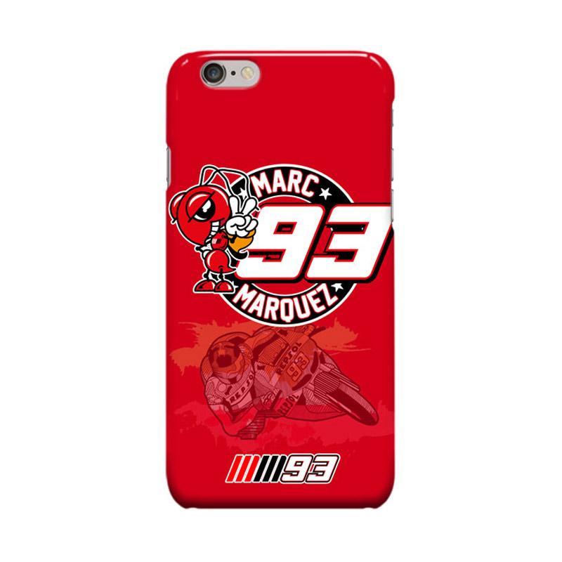 Indocustomcase Marc Marquez Logo Casing for Apple iPhone 6 Plus or 6S Plus