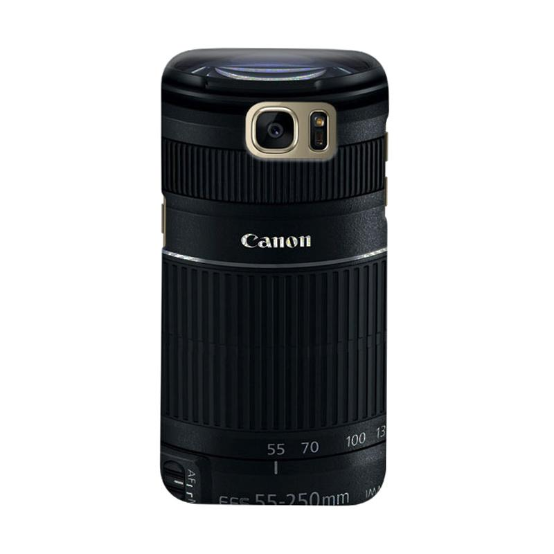 Indocustomcase Canon Tele Lens Camera Cover Casing For Samsung Galaxy S6