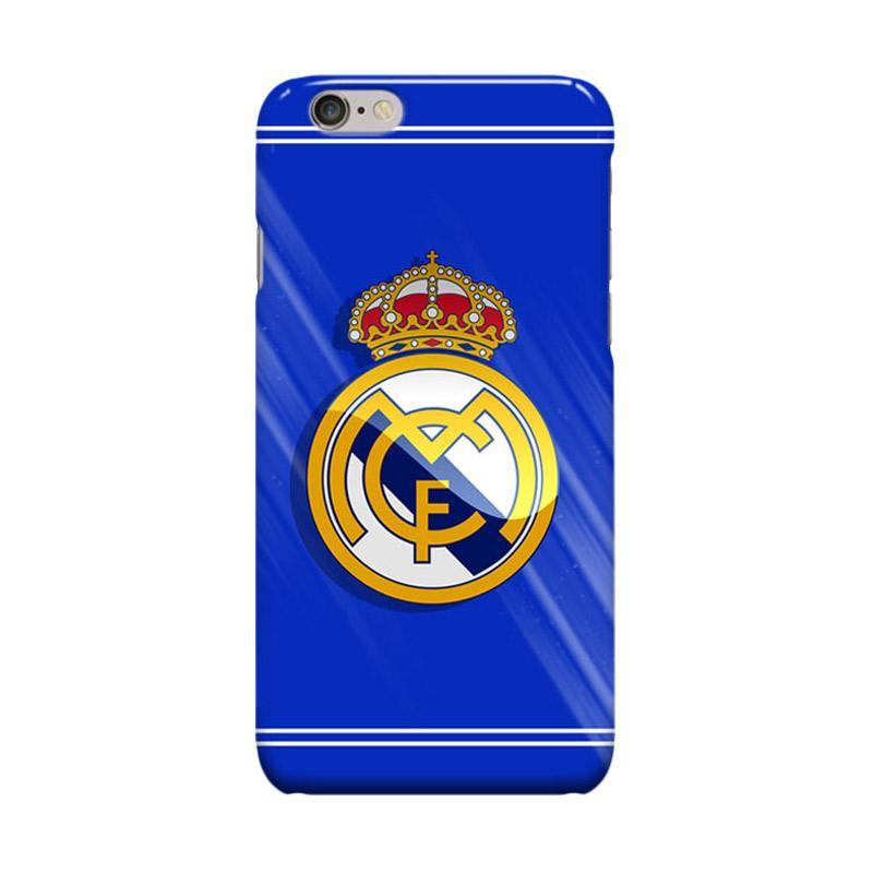 Indocustomcase Real Madrid Logo RMA01 Casing for Apple iPhone 6 Plus or 6S Plus