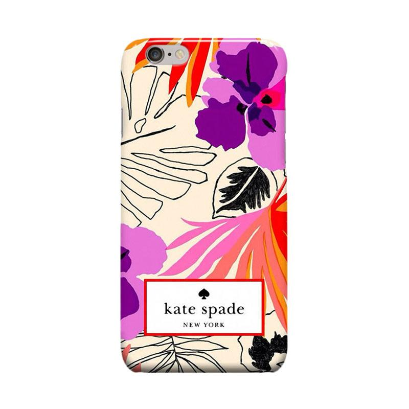 Indocustomcase Kate Spade KS02 Cover Casing for Apple Iphone 6 Plus or 6S Plus