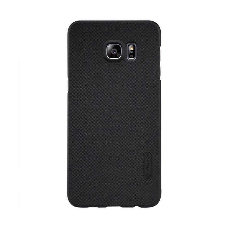 Nillkin Super Shield Original Hardcase Casing for Samsung Galaxy S6 Edge Plus - Black [1 mm]