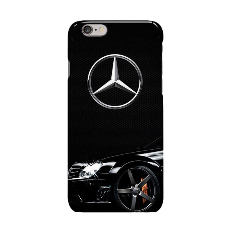 Indocustomcase Mercedes Benz Logo Cover Casing for iPhone 6 Plus or 6S Plus