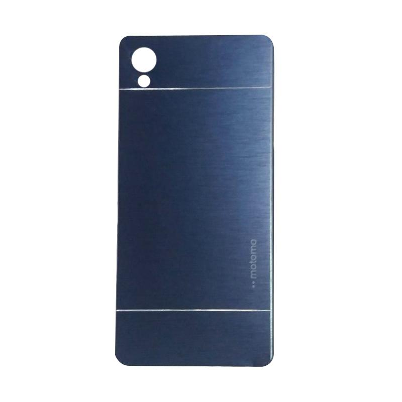 Motomo Metal Backcase Hardcase Casing for Sony Xperia Z5 Plus or Z5 Premium - Dark Blue