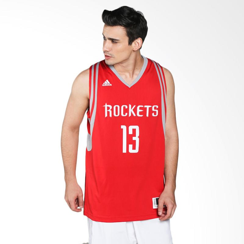 496783d77 ... discount adidas men basketball nba houston rockets james harden  swingman red jersey basket al6861 cb641 209c3