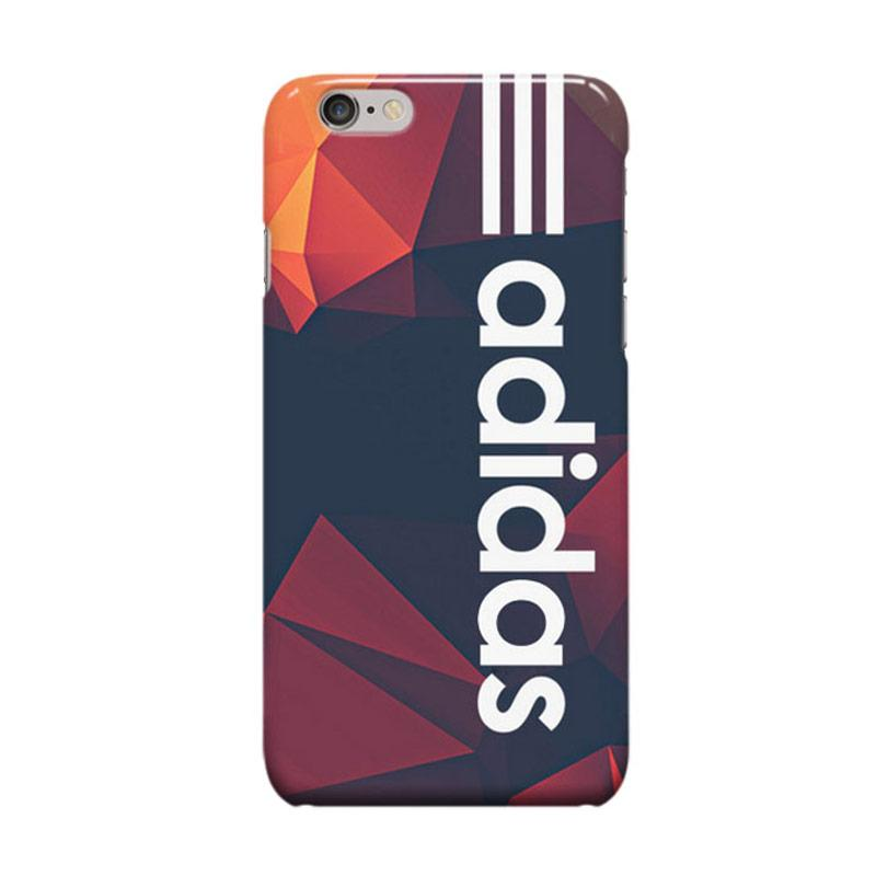 Indocustomcase Adidas On Geometric Cover Casing for iPhone 6 Plus or 6S Plus