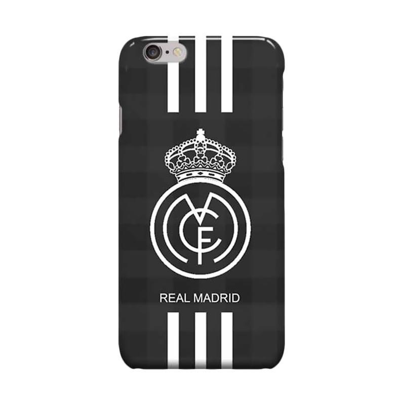 Indocustomcase Real Madrid Logo RMA07 Casing for Apple iPhone 6 Plus or 6S Plus