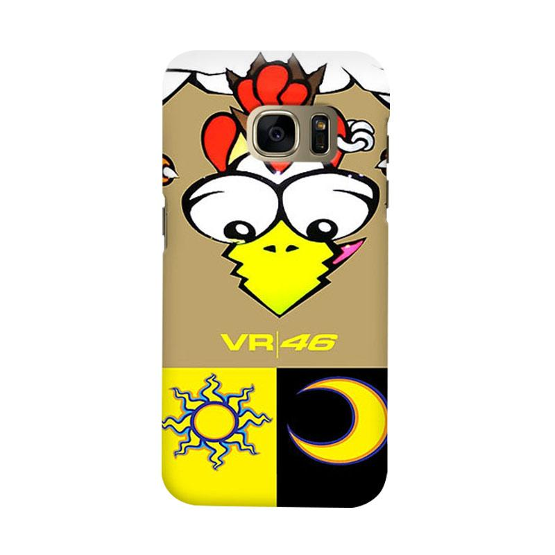 Indocustomcase Valentino Rossi RB01 Cover Casing for Samsung Galaxy S6