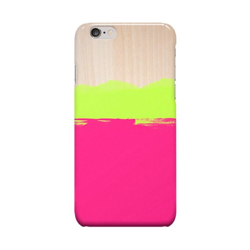 Indocustomcase Water Color Cover Casing for Apple iPhone 6 Plus or 6S Plus