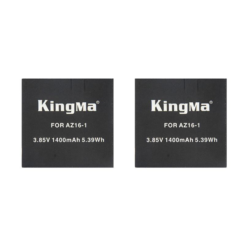 Kingma Combo Duo Replacement Battery for Xiaomi Yi 4K Version 2 - Hitam