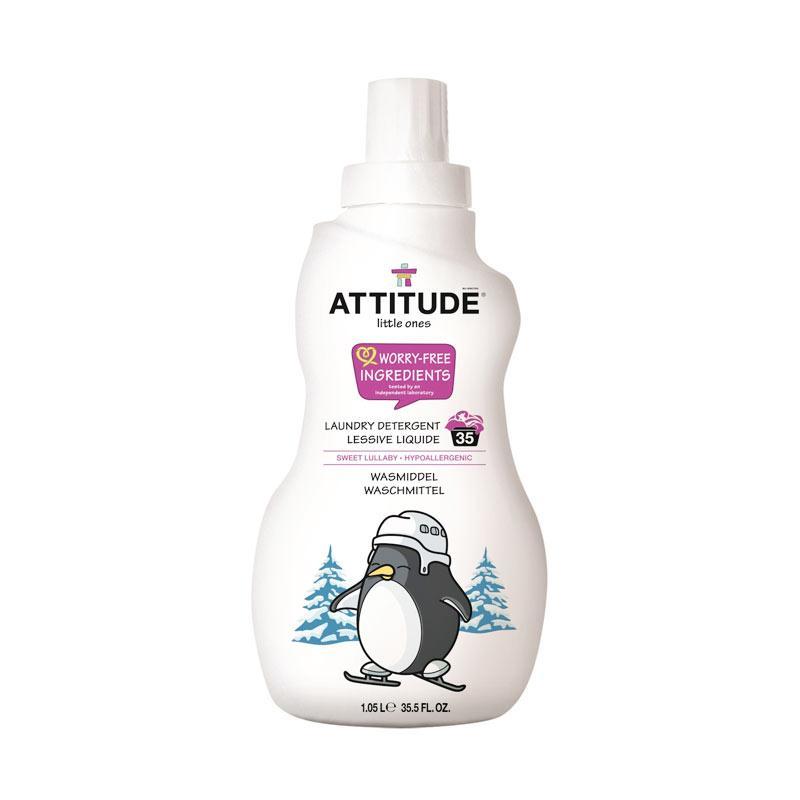 Attitude Laundry Detergent Sweet Lullaby Deterjen & Pelembut Pakaian Bayi [1.05 L/35 loads]