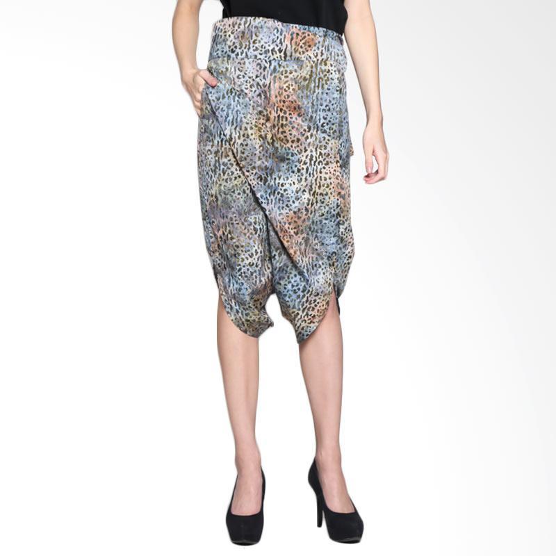Batik Pria Tampan Women WCLPD-13162714C Jaguar Spot Pareo Pants Celana Wanita - Steel
