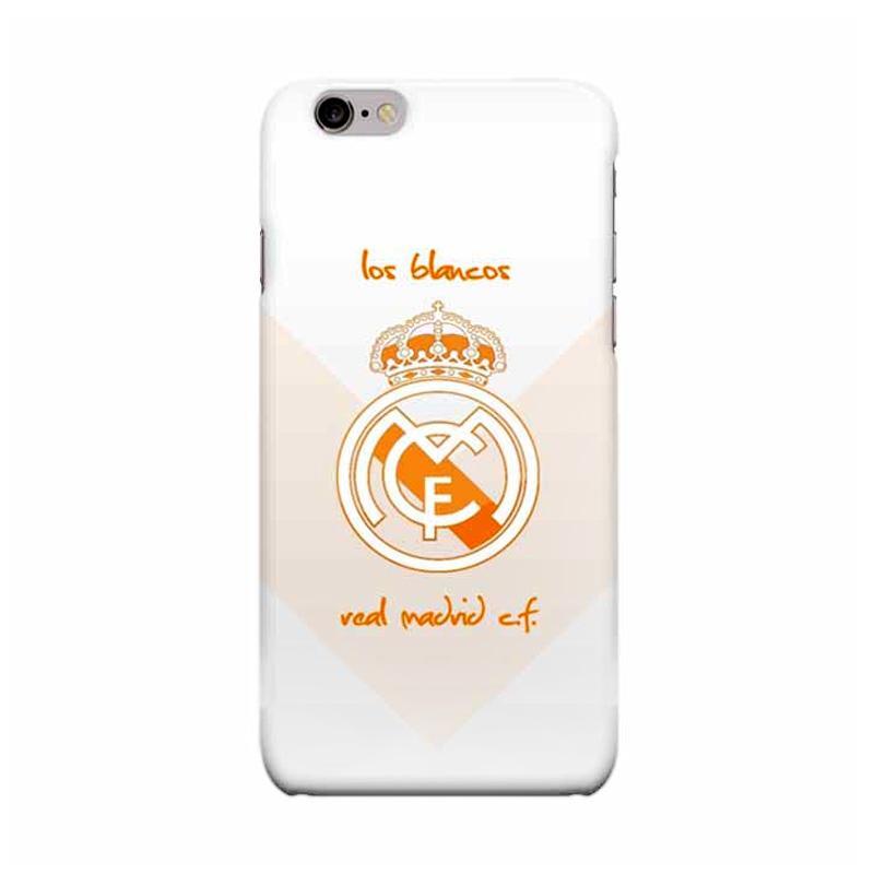 Indocustomcase Real Madrid Logo RMA08 Casing for Apple iPhone 6 Plus or 6S Plus