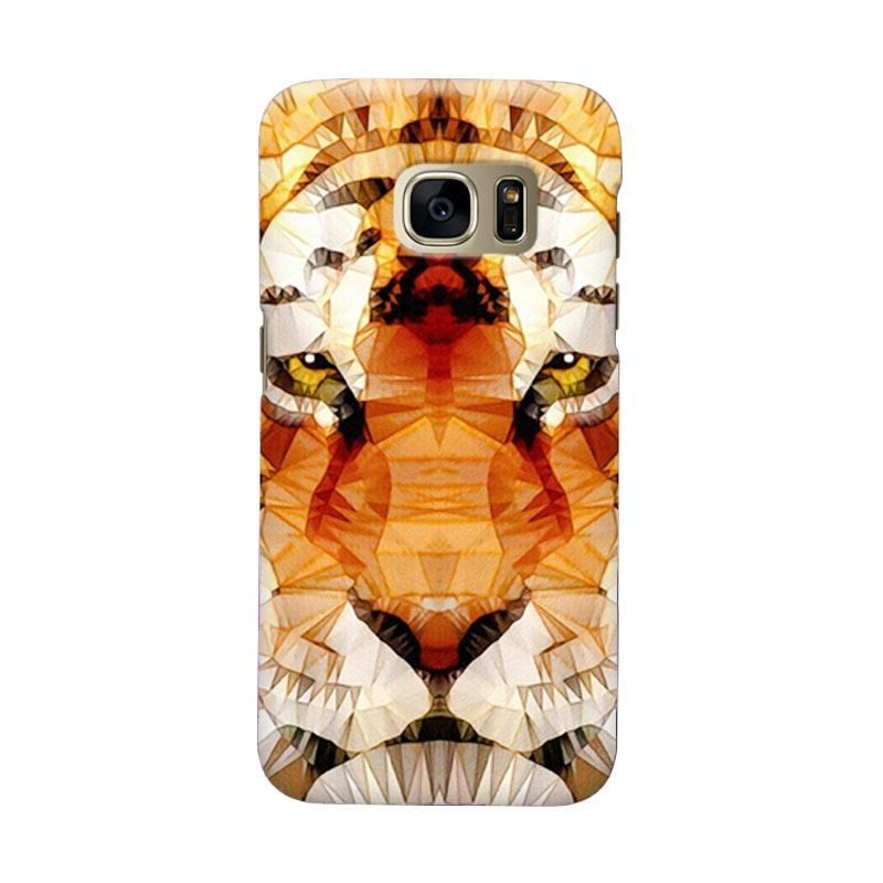 Indocustomcase Tiger Bubble Ghume Cover Casing for Samsung Galaxy S6 Edge