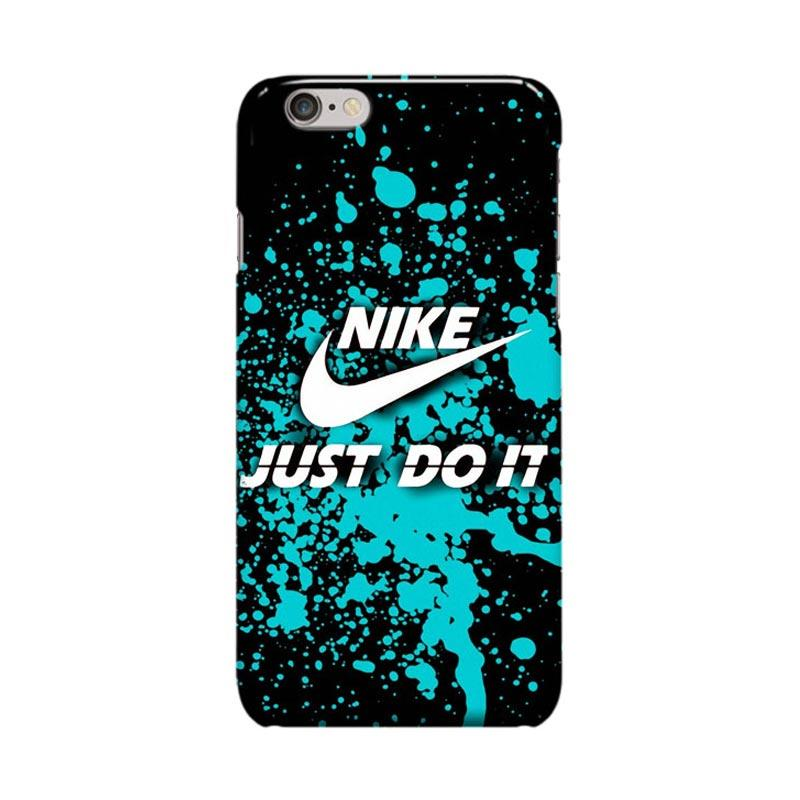 Indocustomcase Nike Just Do It Case Casing for Apple iPhone 6 Plus or 6S Plus