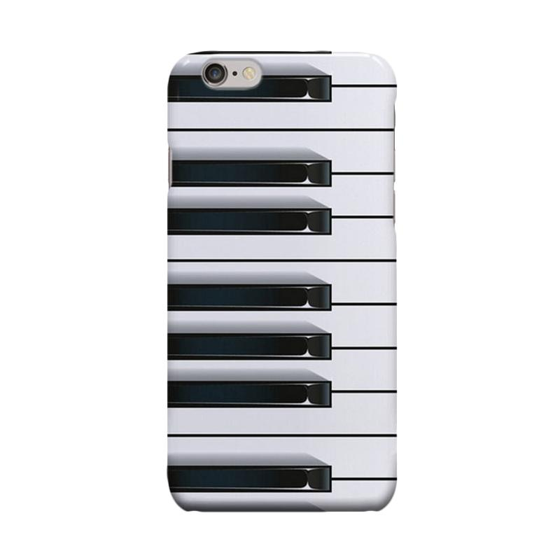 Indocustomcase Tooth Piano Cover Casing for Apple iPhone 6 Plus or 6S Plus