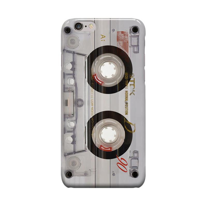 Indocustomcase TDK Cassette Cover Casing for Apple iPhone 6 Plus or 6S Plus