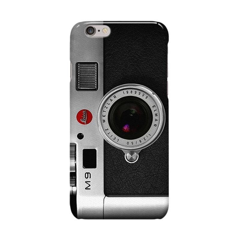 Indocustomcase Retro Camera Leica M9 Cover Casing for iPhone 6 Plus or 6S Plus