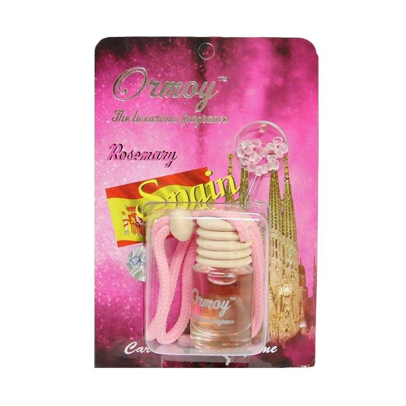 SIV Ormoy The Luxurious Fragrance Rosemary Liquid Air Freshener Parfum Mobil - Pink