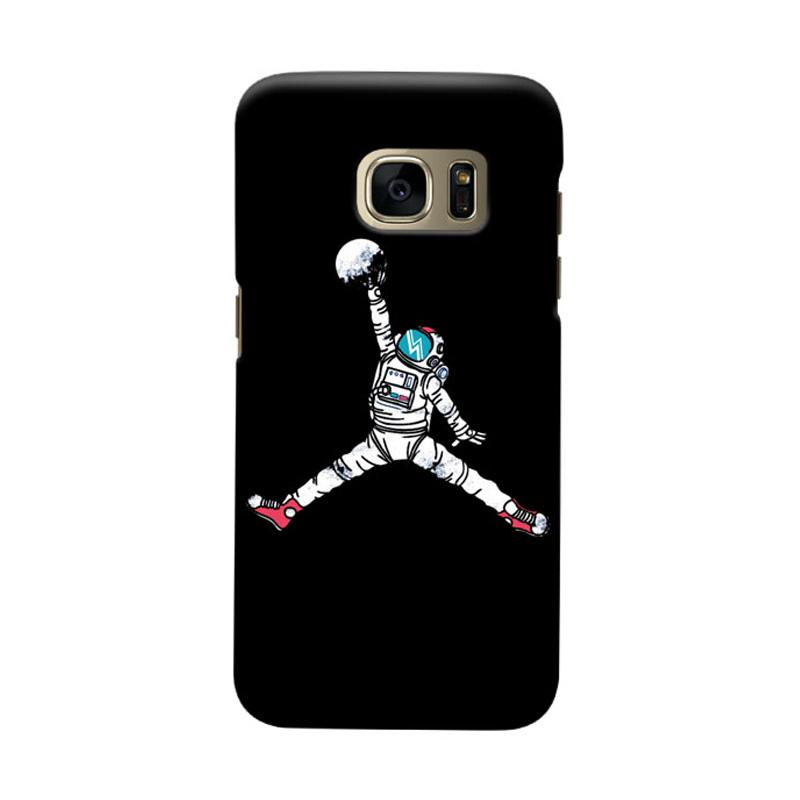 Indocustomcase Astronout Dunk Cover Casing for Samsung Galaxy S6 Edge