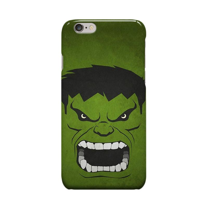 Indocustomcase Vintage Hulk Cover Casing for Apple iPhone 6 Plus or 6S Plus