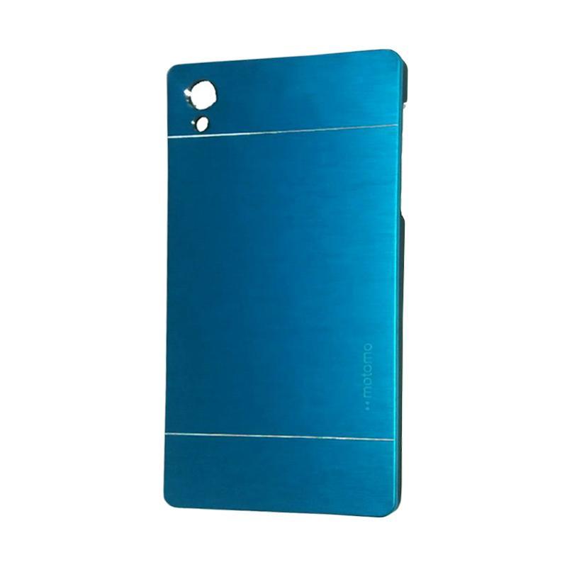 Motomo Metal Hardcase Backcase Casing for Sony Xperia Z5 Plus or Z5 Premium - Sky Blue