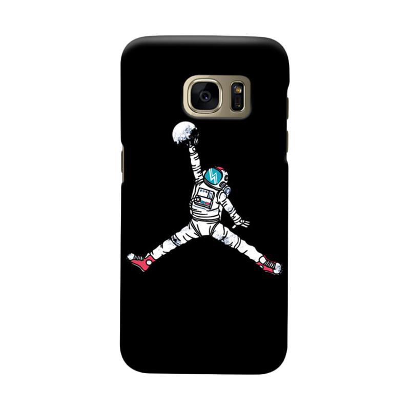 Indocustomcase Astronout Dunk Cover Casing for Samsung Galaxy S7 Edge