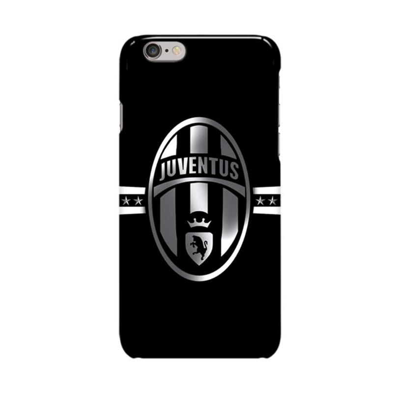 Indocustomcase Juventus Logo JV02 Casing for Apple iPhone 6 Plus or 6S Plus