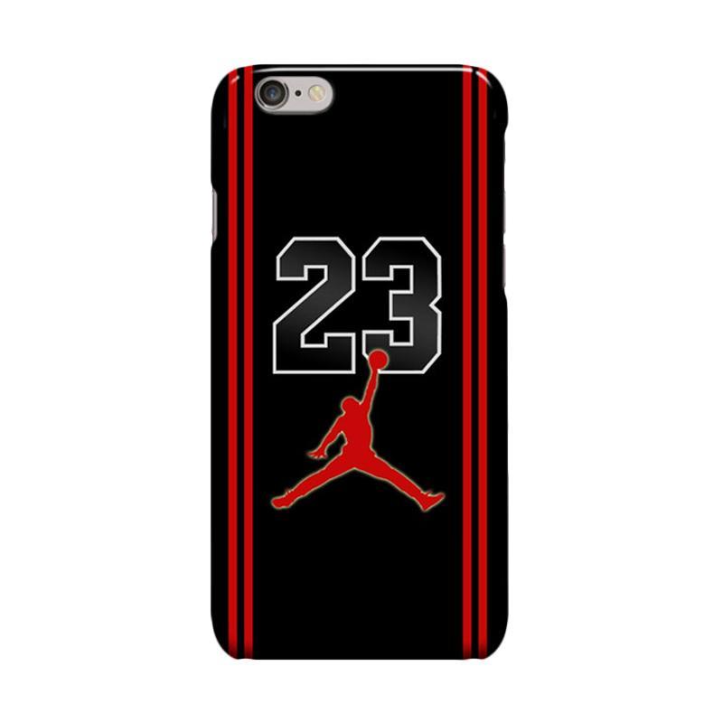 Indocustomcase Michael Jordan 23 Cover Casing for Apple iPhone 6 Plus or 6S Plus