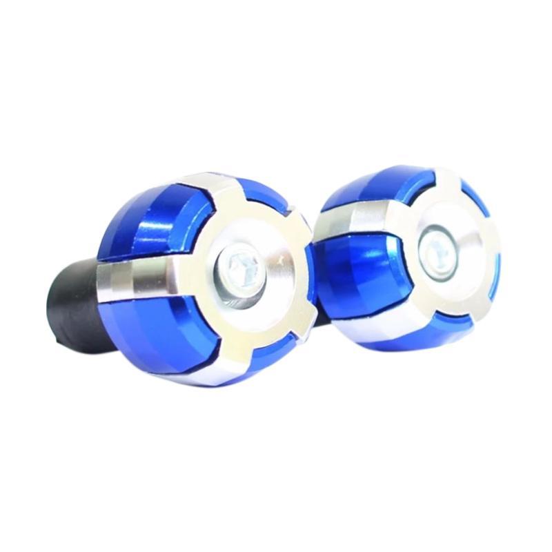 Raja Motor Aksesoris Motor Jalu Stang 2 Warna CNC - Biru Silver [STZ9021-Biru-Silver]
