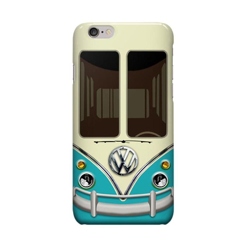 Indocustomcase Adventure VW Cover Casing for iPhone 6 Plus or 6S Plus - Blue