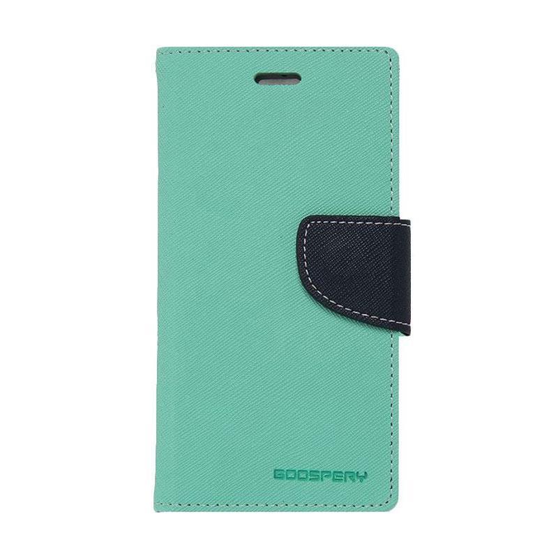 harga Mercury Goospery Fancy Diary Casing for Samsung Galaxy S7 Edge - Hijau Tua Biru laut Blibli.com
