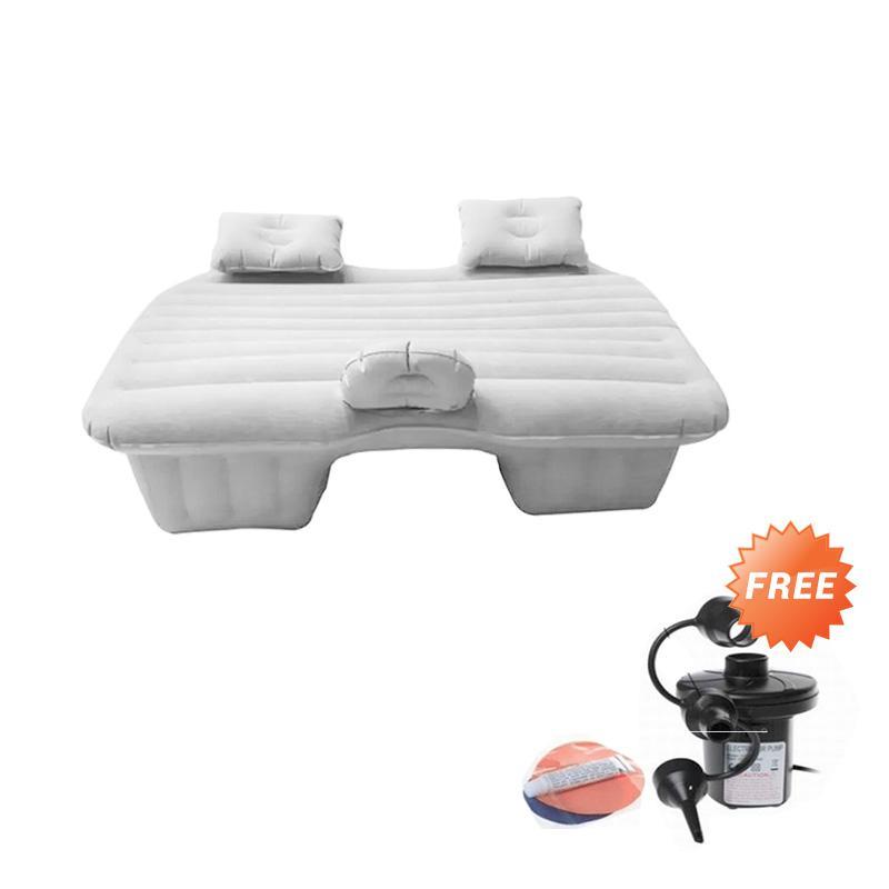 Jual Tokuniku Kasur Angin Mobil Bludru Car Mattress Cream Free Air Pump Dan Repair Kit Online November 2020 Blibli Com