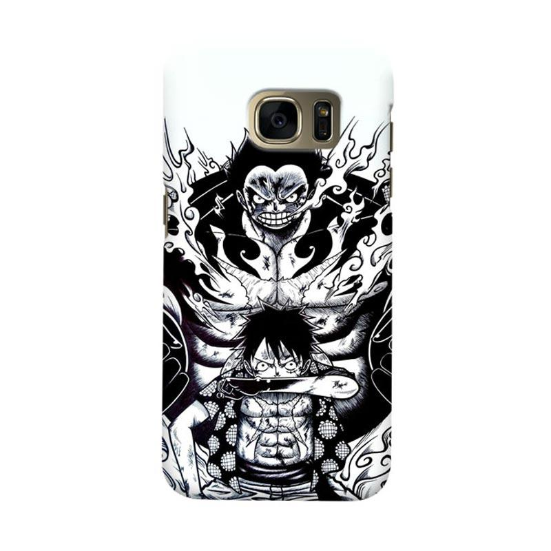 Indocustomcase Anime One Piece Character OP10 Cover Casing for Samsung Galaxy S7