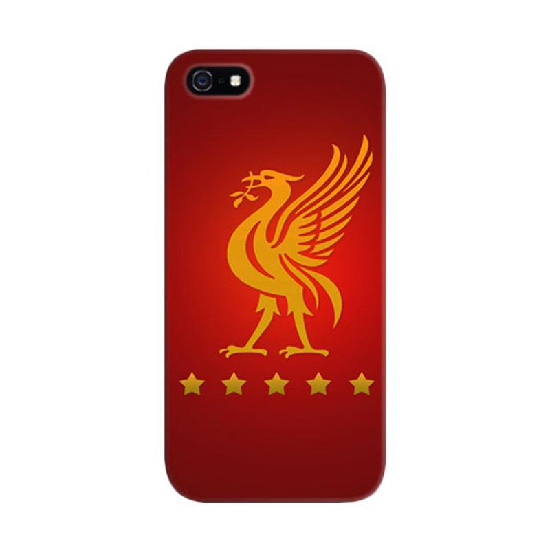 Indocustomcase Liverpool Logo Custom Hardcase Casing for Apple iPhone 5/ 5S/ SE