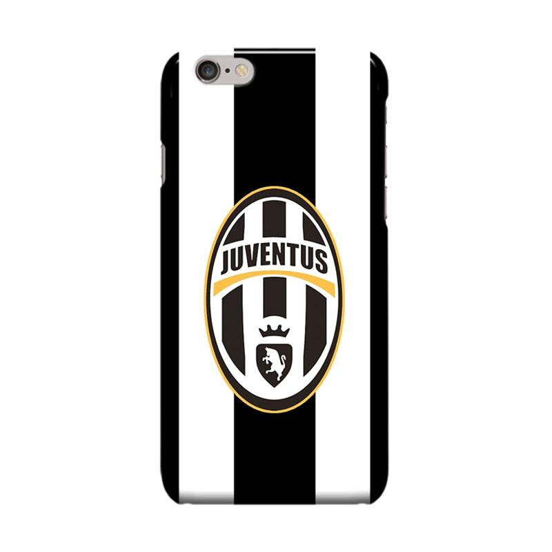 Indocustomcase Juventus Logo JV09 Casing for Apple iPhone 6 Plus or 6S Plus