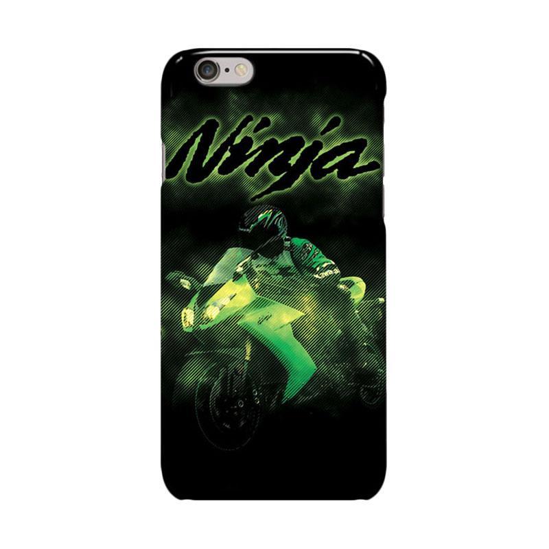 Indocustomcase Kawasaki Ninja Cover Casing for Apple Iphone 6 Plus or 6S Plus