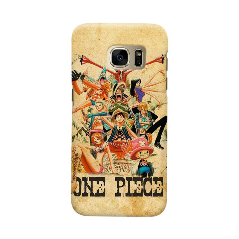 Indocustomcase Anime One Piece Character OP13 Cover Casing for Samsung Galaxy S7