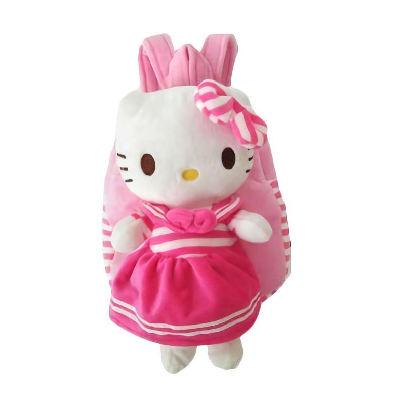harga JCF Shop Boneka Fashion Import TK Hello Kitty Sanrio Baju Sailor Tas Ransel Anak - Pink Blibli.com