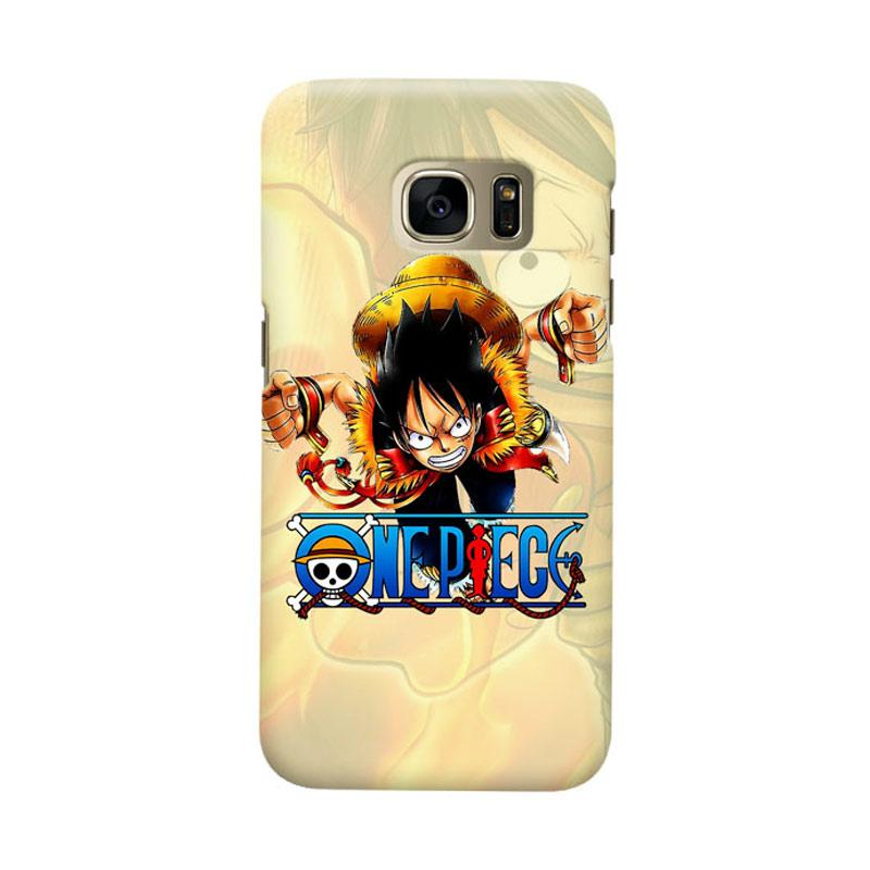 Indocustomcase Anime One Piece Character OP15 Cover Casing for Samsung Galaxy S7