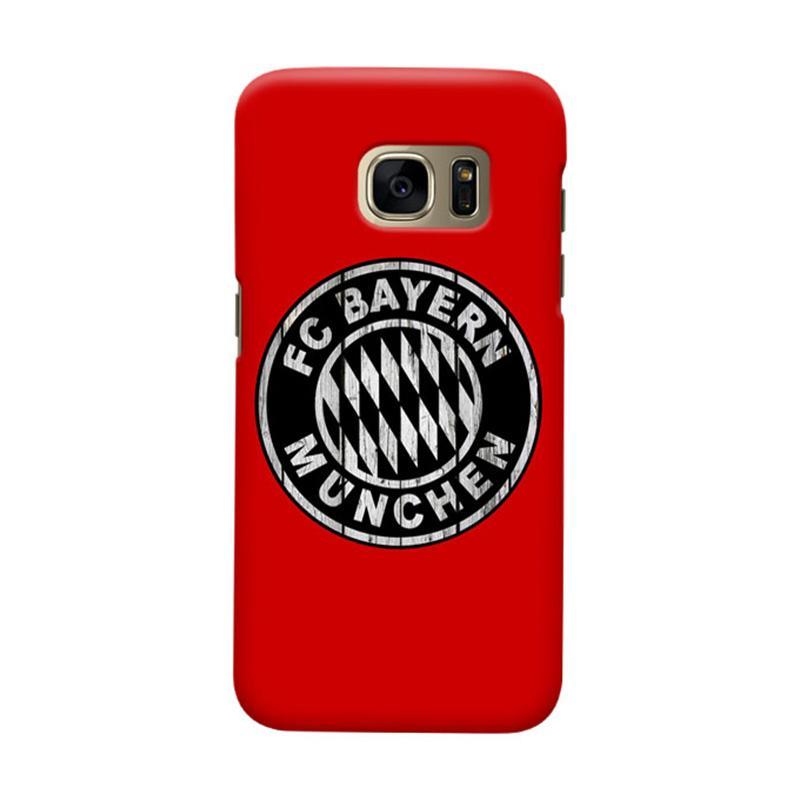 Indocustomcase Bayern Munchen FC BM02 Cover Casing for Samsung Galaxy S6 Edge